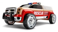 T900 Beech Wood Rescue KitTruck with Red Fenders