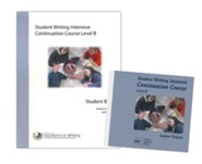 IEW Student Writing Intensive: Continuation Course, Level B 9 DVDs, 1 Student Packet