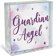 Guardian Angel, Glass Plaque