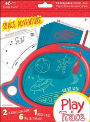 Boogie Board Play & Trace Activity Pack, Space Adventure