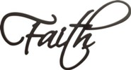 Faith, Word Wall Art