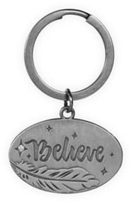 Believe, Feather Keyring