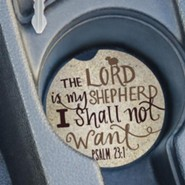 The Lord Is My Shepherd, Car Coaster