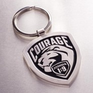 Courage, Metal Keyring