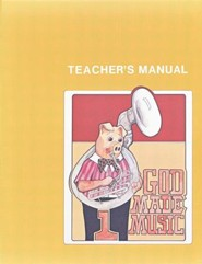 God Made Music 1, Teacher's Manual