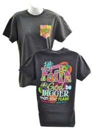 Big Faith Shirt, Gray, Small