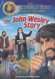 The Torchlighters Series: The John Wesley Story, DVD
