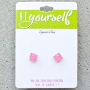Be Yourself Earrings, Pink