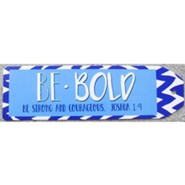 Be Bold Chevron Bookmark, Blue