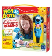 Hot Dots Junior, Let's Master Kindergarten Reading