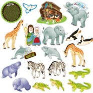 Noah's Ark, Fridge Magnets, 20 Pieces