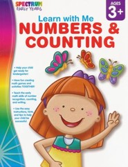 Spectrum Early Years Learn with Me Numbers & Counting