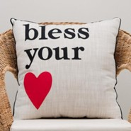 Bless Your [Heart] Pillow