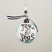 Mr & Mrs Ball Ornament