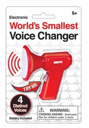 World's Smallest Voice Changer, Assorted Colors