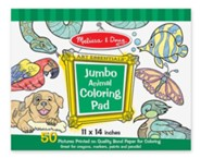 Animals Jumbo Coloring Pad