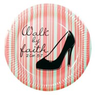 Walk by Faith Paper Plates, Pack of 10