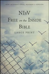 NIrV Free on the Inside Large-Print Bible, softcover