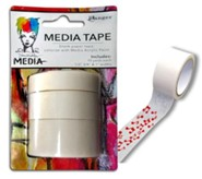 Washi Media Tape, 3 Widths