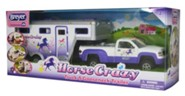Horse Crazy Truck and Trailer, Stablemates Size