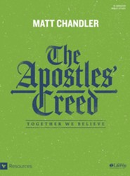 The Apostles' Creed Bible Study Book: Together We Believe