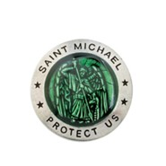 Saint Michael Pewter Pocket Token