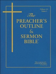 The Preacher's Outline & Sermon Bible(r) Psalms Vol. 3