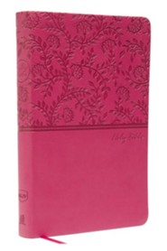 NKJV Value Thinline Bible, Imitation Leather, Pink