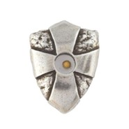 Pewter Pin - Mustard Seed Shield