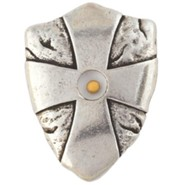 Pewter Pocket Token - Mustard Seed Shield