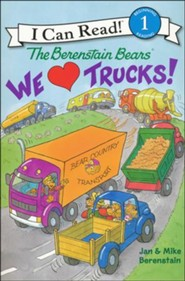 The Berenstain Bears: We Love Trucks!, Softcover