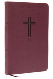 NKJV Value Thinline Bible, Imitation Leather, Burgundy