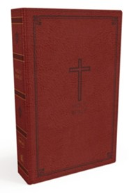 NKJV Thinline Bible, Imitation Leather, Red
