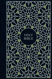 NKJV Compact Thinline Bible, Blue and Green, Hardcover
