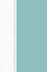 Hardcover Teal / White Large Print - Slightly Imperfect