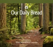 Our Daily Bread 2018 Wall Calendar