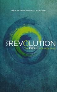 NIV, Revolution Bible: The Bible for Teen Guys, Hardcover
