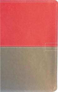 Imitation Leather Pink / Tan Book Red Letter