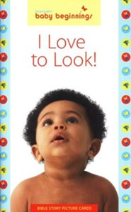 I Love to Look: 12 Bible Story Picture Cards