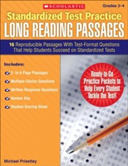Standardized Test Practice: Long Reading Passages: Grades 3-4  -     By: Michael Priestley
