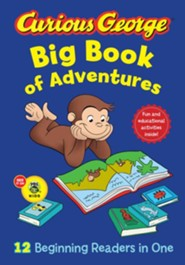 Curious George Big Book of Adventures  -     By: H.A. Rey