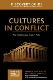 That the World May Know--Volume 16: Cultures in Conflict, Discovery Guide