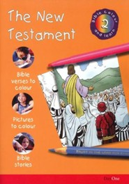 Bible Colour and Learn: 02 The New Testament