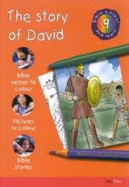 Bible Colour and Learn: 09 The Story of David