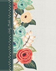 Hardcover Green Floral