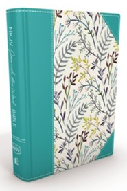 Hardcover Blue Floral - Slightly Imperfect