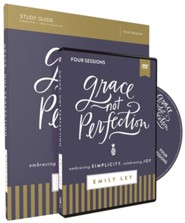 Grace, Not Perfection: Embracing Simplicity, Celebrating Joy Study Guide with DVD