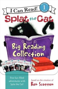 Splat's Big Reading Collection  -     By: Rob Scotton     Illustrated By: Rob Scotton