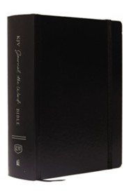 Hardcover Black Large Print - Slightly Imperfect