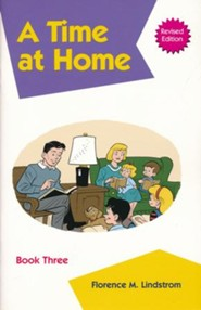 Kindergarten Phonics Reader Book 3: A Time at Home